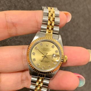 ロレックス(ROLEX)のROLEX デイトジャスト  型番69173G 時計(腕時計)