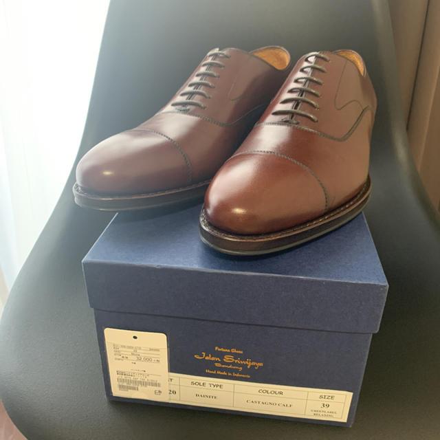 UNITED ARROWS(ユナイテッドアローズ)の【新品未使用】ジャランスリワヤ ストレートチップ 6 39 24.5 メンズの靴/シューズ(ドレス/ビジネス)の商品写真