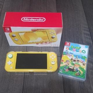 Nintendo Switch - Nintendo Switch Light あつまれどうぶつの森セット