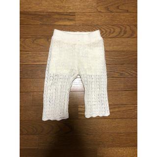 petit main - プティマイン  レース編みパンツ