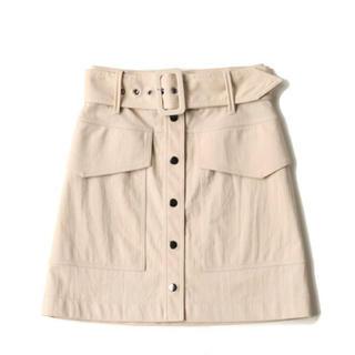 H&M - H&M ベルト付きミニスカート