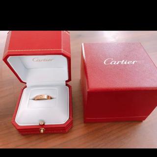 Cartier - カルティエ ラブリングダイヤモンド1粒