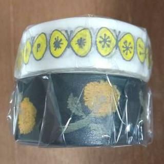 ミナペルホネン(mina perhonen)のmt × mina perhonen  太 · 細  マステ  2巻セット(テープ/マスキングテープ)