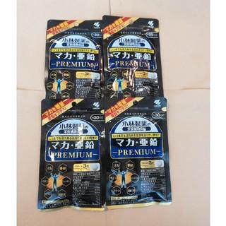 小林製薬 - 小林製薬 マカ.亜鉛プレミアム30日分×4袋