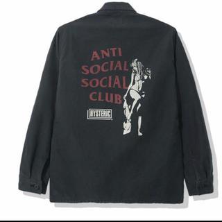 アンチ(ANTI)のアンチソーシャルソーシャルクラブ×HYSTERIC GLAMOUR BDUシャツ(ミリタリージャケット)