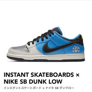INSTANT  × NIKE SB DUNK LOW(スニーカー)