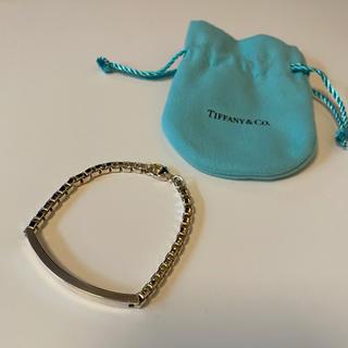 Tiffany & Co. - ティファニー ベネチアン ID ブレスレット シルバー
