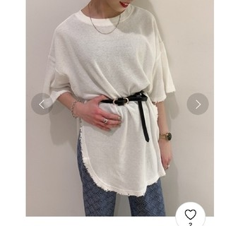ジーナシス(JEANASIS)のJEANASIS  ワッフルダメージTEE (Tシャツ(半袖/袖なし))