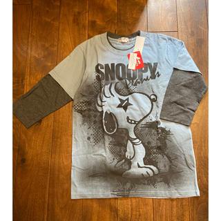 ピーナッツ(PEANUTS)の新品 ピーナッツ SNOOPY Tシャツ(Tシャツ/カットソー(七分/長袖))