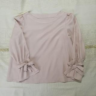 クチュールブローチ(Couture Brooch)の袖リボン ブラウス(シャツ/ブラウス(長袖/七分))