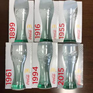コカコーラ(コカ・コーラ)のコカコーラ100周年記念グラス6個セット(グラス/カップ)