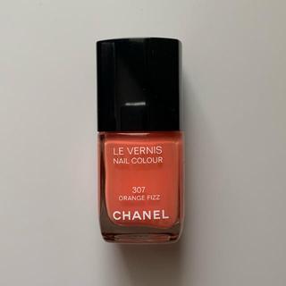 CHANEL - シャネル ヴェルニ オレンジフィズ 307