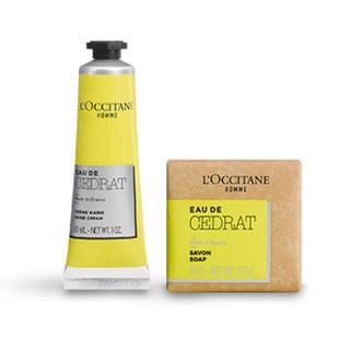 L'OCCITANE - 【未使用送料込】ロクシタン セドラ メルシーキット ハンドクリーム ソープ