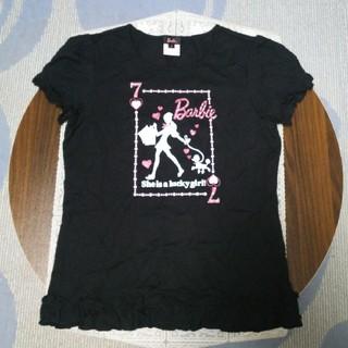 バービー(Barbie)の【試着のみ】Barbie  Tシャツ(Tシャツ/カットソー)
