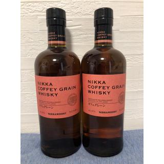 ニッカウイスキー(ニッカウヰスキー)のニッカ カフェグレーン 2本(ウイスキー)