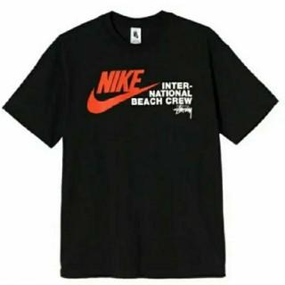 ステューシー(STUSSY)のStussy NIKE Tシャツ XL 黒 ナイキ ステューシー ベナッシ(Tシャツ/カットソー(半袖/袖なし))