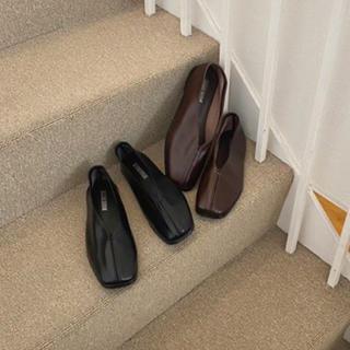 トゥデイフル(TODAYFUL)のlawgy  leather stitch shoes(ローファー/革靴)