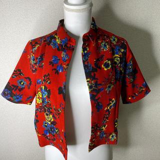 エモダ(EMODA)の【新品未使用】EMODA赤シャツ(Tシャツ(半袖/袖なし))