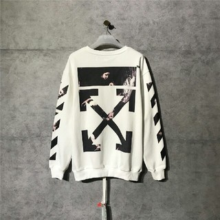 オフホワイト(OFF-WHITE)の新品20SS OFF-WHITE カラヴァッジョ アロー ロングTシャツ S(パーカー)