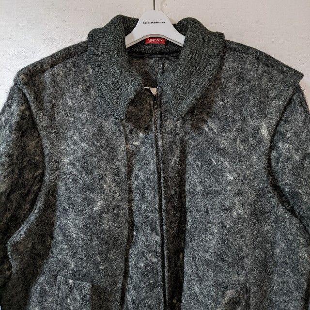 UNDERCOVER(アンダーカバー)の美品 アンダーカバー UNDERCOVER ウール ドッキング ジャケット L メンズのジャケット/アウター(ノーカラージャケット)の商品写真