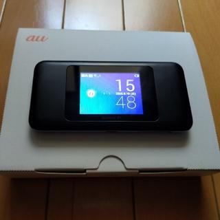 エーユー(au)のau speedWi-FiNEXT W06 ポケットWi-Fi(PC周辺機器)