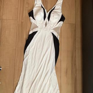 ジュエルズ(JEWELS)のJEWELS ロングドレス キャバ ドレス シースルー セクシー(ナイトドレス)
