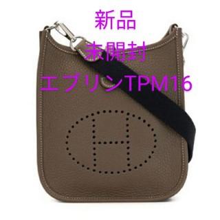 Hermes - 新品未開封♪ エブリン エトープ ミニ 16 TPM