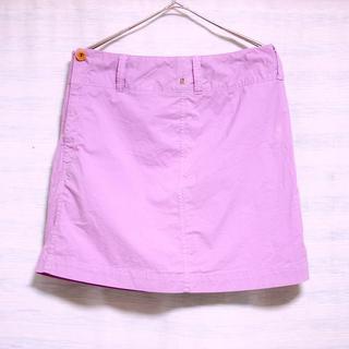 フォーティーファイブアールピーエム(45rpm)の【休日割引】美品 45rpm ミニ スカート 紫 パープル ラベンダー(ミニスカート)