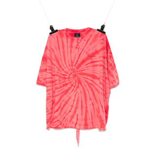 PEACEMINUSONE - PMO TIE-DYE T-SHIRTS #5 RED