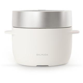 BALMUDA - 新品バルミューダ 炊飯器 BALMUDA The Gohan K03A-WH 白