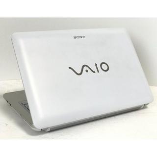 ソニー(SONY)の★小型軽量モバイル★最新Windows10★SONY VAIO ★人気ホワイト(ノートPC)
