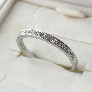ヨンドシー(4℃)の4°C ハーフエタニティ リング  プラチナ ダイヤモンド (リング(指輪))