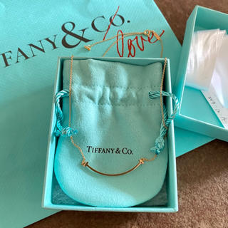 Tiffany & Co. - ティファニー/T/スマイル/ネックレス/YG/スモール/