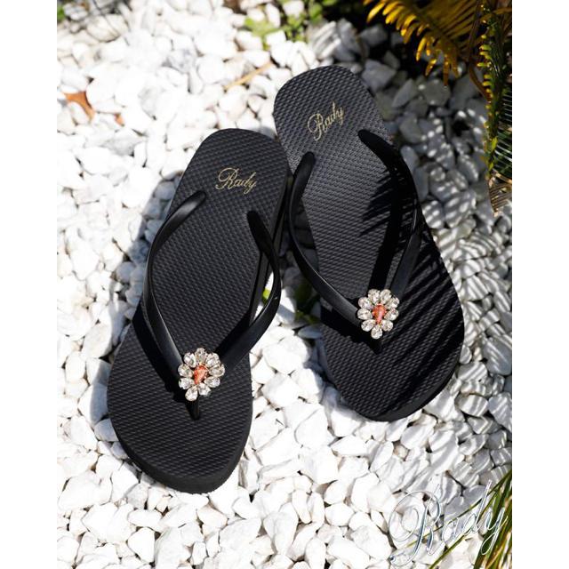 Rady(レディー)のRady🎀ビジューヒールサンダル🎀ビーチサンダル レディースの靴/シューズ(サンダル)の商品写真