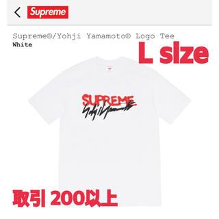 シュプリーム(Supreme)のSupreme Yohji Yamamoto® Logo Tee White L(Tシャツ/カットソー(半袖/袖なし))