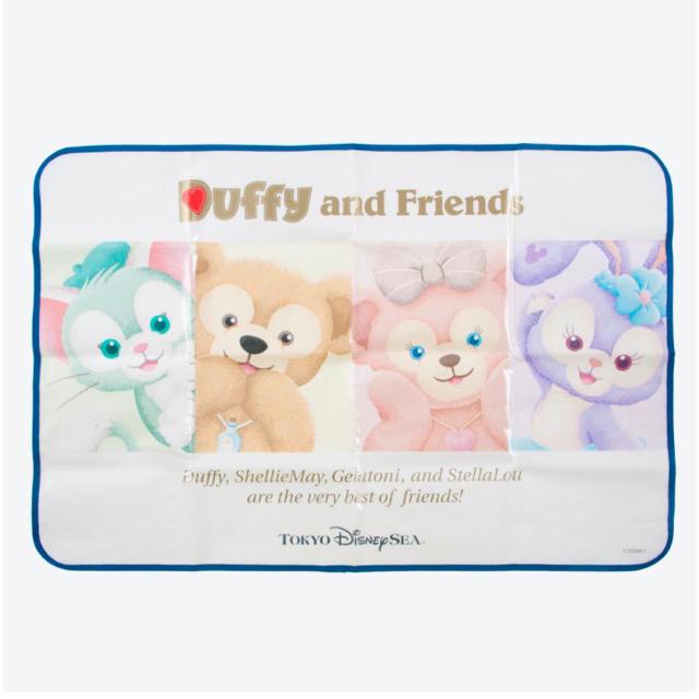 ダッフィー(ダッフィー)のダッフィー レジャーシート エンタメ/ホビーのおもちゃ/ぬいぐるみ(キャラクターグッズ)の商品写真