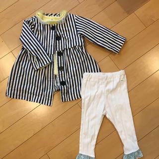 ブリーズ(BREEZE)のアプレレクール ワンピース 羽織り セット(ジャケット/上着)