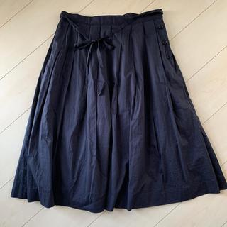 マーガレットハウエル(MARGARET HOWELL)のMARGARET HOWELL プリーツ スカート マーガレットハウエル Ⅲ(ひざ丈スカート)