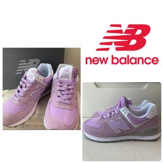 ニューバランス(New Balance)の未使用 美品 ニューバランス 574 バイオレット(スニーカー)