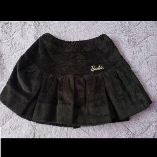 バービー(Barbie)の美品★Barbie★バービー★ふわもこがとってもcute★チアラインスカート★(スカート)