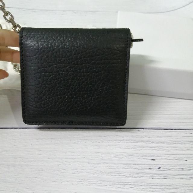 Maison Martin Margiela(マルタンマルジェラ)の美品【マルジェラ】◆スモール レザー チェーンウォレット レディースのバッグ(ショルダーバッグ)の商品写真