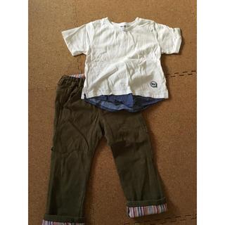 ビームス(BEAMS)のBEAMS Tシャツ、JUNK STOREパンツセット(Tシャツ/カットソー)