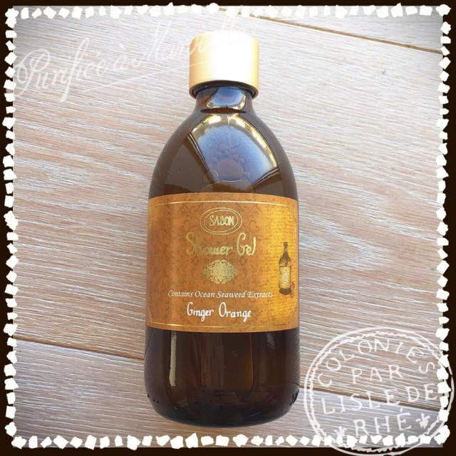 SABON(サボン)のSABON  ジンジャーオレンジ  シャワージェル コスメ/美容のボディケア(ボディソープ/石鹸)の商品写真