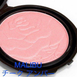 MAC - 新品 MALIBU GLITZ Rose Cheek アンバー