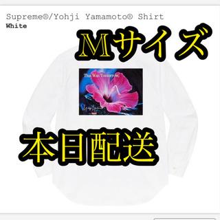 シュプリーム(Supreme)のSupreme®︎/Yohji Yamamoto®︎ Shirt WHITE M(シャツ)
