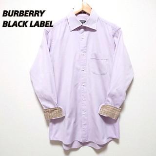 BURBERRY BLACK LABEL - BURBERRY BLACK LABEL バーバリーブラックレーベル シャツ