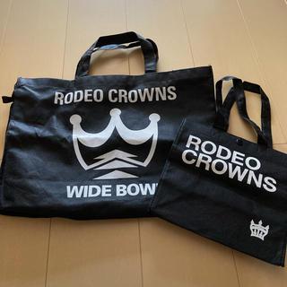 ロデオクラウンズワイドボウル(RODEO CROWNS WIDE BOWL)のロデオクラウンズワイルドボール(ショップ袋)