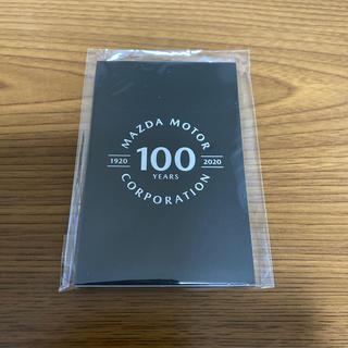 マツダ(マツダ)のマツダ ふせん 100周年(ノベルティグッズ)