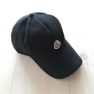 MONCLER - レディース ブラック キャップ モンクレール
