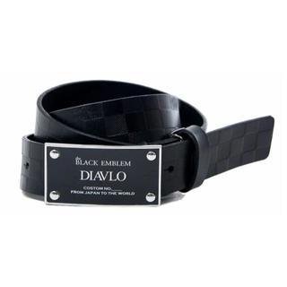 ディアブロ(Diavlo)の(新品)DIAVLO レザー ベルト チェック(ベルト)